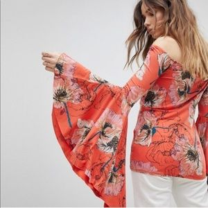 Free People | Birds of Paradise Floral Top